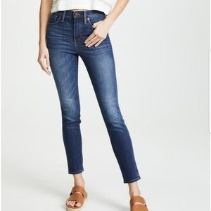 Madewell High Rise Skinny Ankle Jeans Size 29